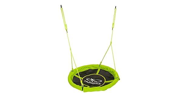 Amazon.com: Hudora 72156 columpio 43.3 inch (verde) Por ...