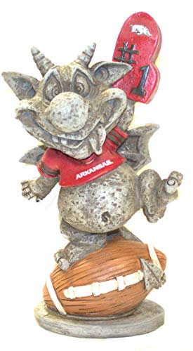 Team Sports America Arkansas Razorbacks Gargoyle Garden Statue