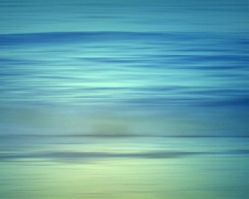 Shades of Blue Miami Beach Abstract Seascape Fine Art Photography Print by Roman Gerardo by Roman Gerardo Miami Beach Fine Art Photography Prints