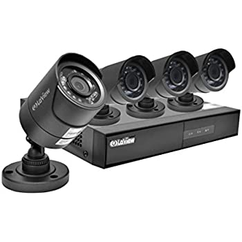 Amazon.com : LaView 6 HD 720P Security Camera System, 8 ...