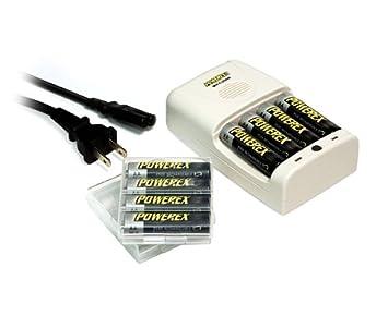 Amazon.com: Powerex mh-c204 W 1-hr en todo el mundo Cargador ...