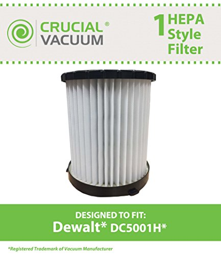 Dewalt DC5001H Engineered Crucial Vacuum product image