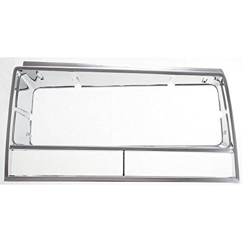 Headlight Door for Chevrolet El Camino 82-87 Malibu 82-83 LH Chrome Left Side