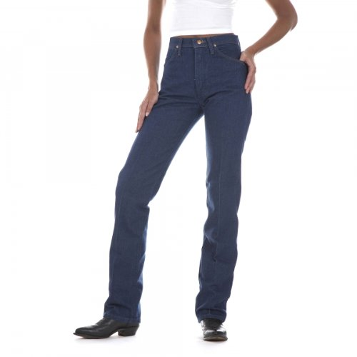 - Wrangler Women's Cowgirl Cut Slim Fit Natural Waist Jean, Prewash, 0X32