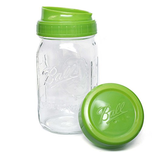 Ball Pour, Measure and Store Lid with Mason Jar (12) by Ball