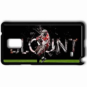 Personalized Samsung Note 4 Cell phone Case/Cover Skin 14274 bucs wp 11 sm Black