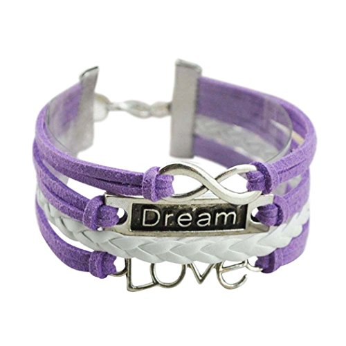 Grecian Costume Diy (Wild Wind (TM) Power of Love Two-Tone Multi Braided Dream Coming True Wrap Bracelet)