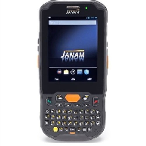 Janam XM5-ZQKARDGV00 Series XM5 Handheld Computing Devices, Android JB 4.2, 1D Laser Scanner, 802.11ABGN, GPS, HD RFID, Camera, 4000 mAh, Qwerty Keypad by JANAM