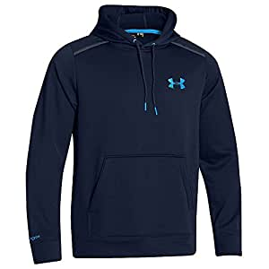 Under Armour Fleece Storm Marauder Hoody - Men's Academy / Electric Blue Small