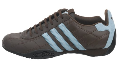 meet a9019 7b278 ... Adidas Originals Women s Tuscany Leather Driving Shoe, Choc Argentina  Blue, 8 M Buy ...
