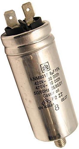 Zanussi compatible sèche-linge Moteur Condensateur 8UF Spares