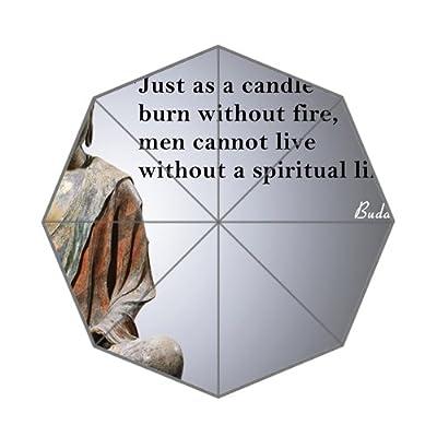 Bouddha Live Citation de vie spirituelle Parapluie