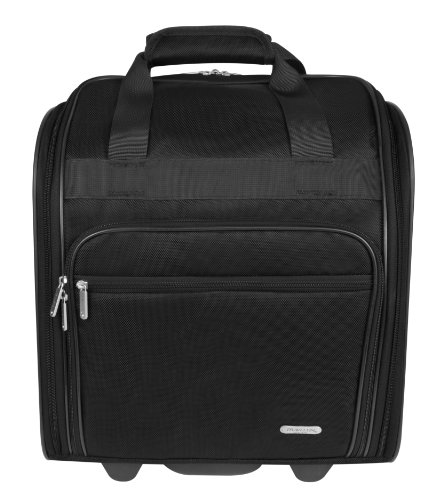 Travelon Wheeled Underseat 15 Inch, Black, One Size