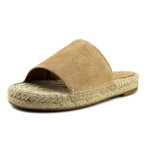 Coach Womens Claudia Open Toe Casual Slide Sandals, Beechwood Suede, Size ()