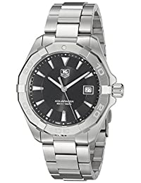 Tag Heuer Men's 'Aquaracer' Quartz Stainless Steel Dress Watch (Model: WAY1110.BA0928)