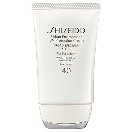 Shiseido Urban Environment UV Protection Cream Broad Spectrum SPF 40 for Face, 1.9 Ounce