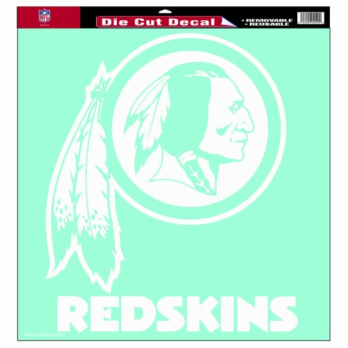 (NFL Washington Redskins 18-by-18-Inch Diecut  Decal)