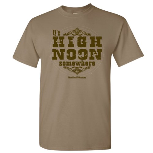 Smith & Wesson Men's High Noon T-Shirt (Safari - M)