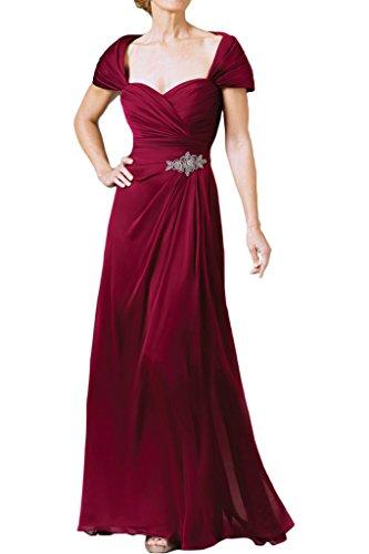 Festkleid A Herzform Promkleid Abendkleid Weinrot Linie Damen Ivydressing Ballkleid Lang Stilvoll ZwS8TqxR