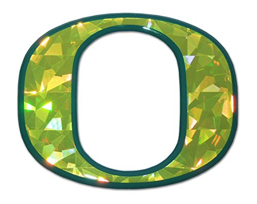 Oregon Ducks Color NCAA Reflective 3D Decal Domed Auto Sticker Emblem -