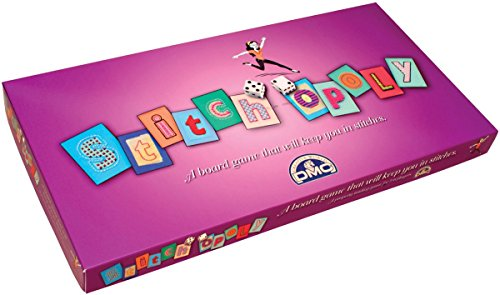 Dmc Stitch Opoly Gameboard