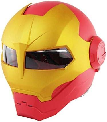 Ironman motorcycle helmet _image1