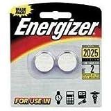 Energizer Lithium Batteries 3.0 Volt For CR2025/DL2025/LF1/3V, Pack of 2