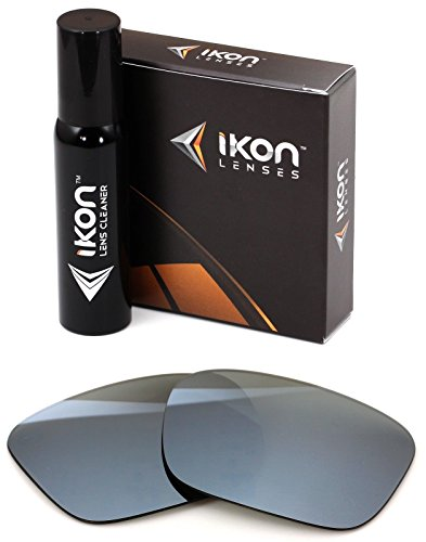 Polarized Ikon Iridium Replacement Lenses For Von Zipper Fulton Sunglasses - Silver Chrome Mirror by Ikon Lenses