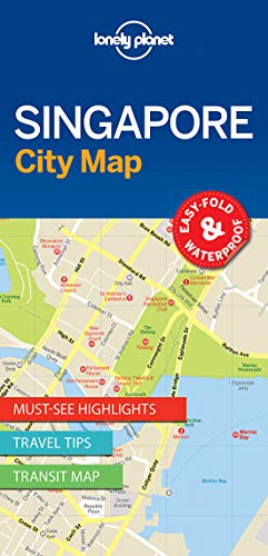 Lonely Planet Singapore City Map (South India Map)