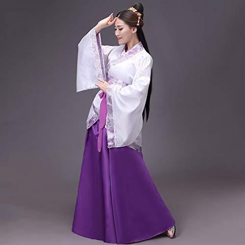 WHFDHF Dress Goedkope Vrouwen Nationale Jurk Oude Hanfu Dans Kleding Traditionele Cosplay Kostuum Lady Stage Jurken Zh12003 -
