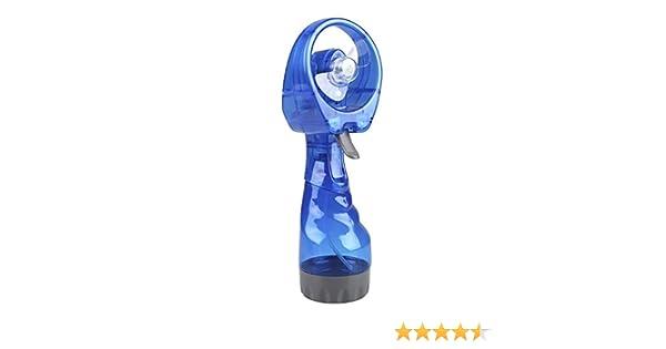Mini ventilador de mano con niebla a batería, pulverizador de agua ...