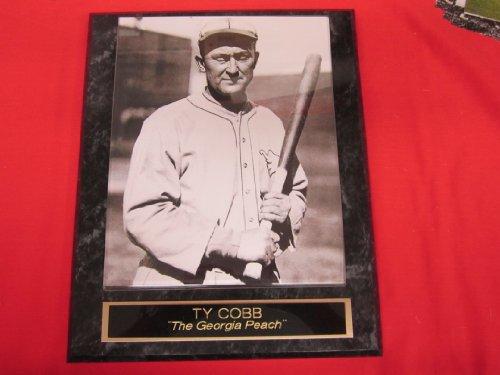 Ty Cobb Philadelphia Athletics Collector Plaque #1 w/8x10 RARE Photo
