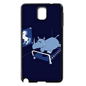 DIYCASESTORE Nice Diy samsung galaxy note 3 N9000 case hippo design customized Bumper Plastic case WE485933