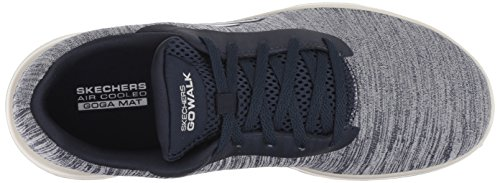 Skechers Walk White Nvw hero Mujer Joy Zapatillas Go navy Azul Para r5qPUzrx
