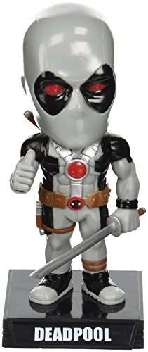 Funko Marvel Heroes: X-Force Deadpool Wacky Wobbler Statue - Exclusive Wacky Wobbler