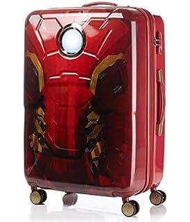 7dd5395ce7 H-TRAVEL サムソナイト マーベルアイアンマン スーツケース キャリーケース SUITCASE 旅行 出張 TSAロック