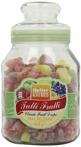 Heller & Strauss - 'Tutti Frutti' Bonbons mit Fruchtgeschmack - 966 GR