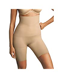 Maidenform 14671556612 12622 Control It Slim Waisters Hi Waist Thigh Slimmers44; Nude - Small