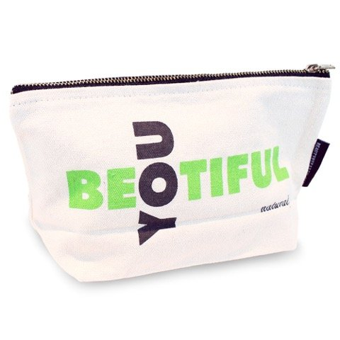 Makeup Bag; Extra Large Washable Canvas Cosmetics Pouch With Zipper for Beauty & Make Up Products Organizer; Best for Travel Storage for Toiletry & Haircare - Large Travel Size Beauty by Earth
