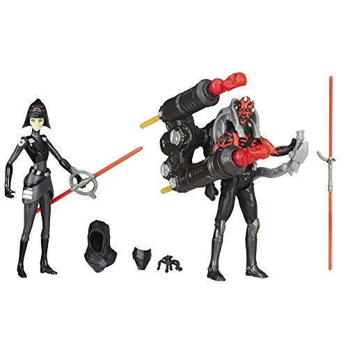 Star Wars Rebels Seventh Sister Inquisitor VS. Darth Maul Action Figures 3.75 Inches