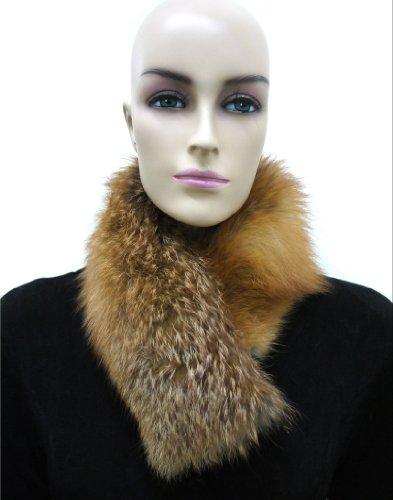 Fox Fur Headband (Red Fox) (Fox Red Fur Headband)