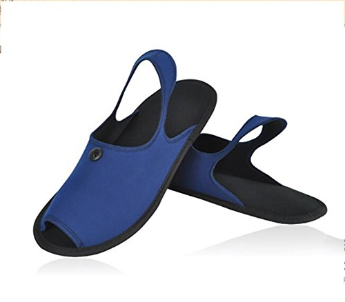 2 38Following Trip In Travelling When Business Blue Portable A Enjoying Folding Trip Business Easy 1 Carry To Unisex Slippers Black Sandals qfHnwTI