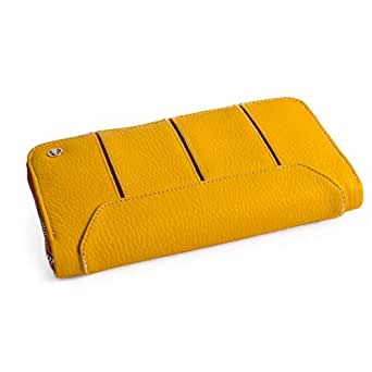 LACOBRA Yellow Leather For Women - Bifold Wallets