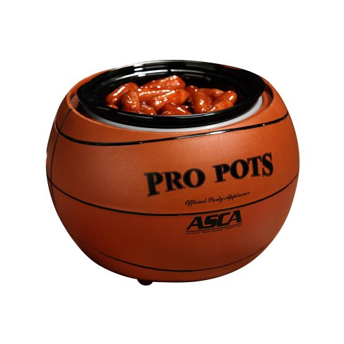 Select Brands BB-10 Pro Pots Basketball Design Slow Cooker