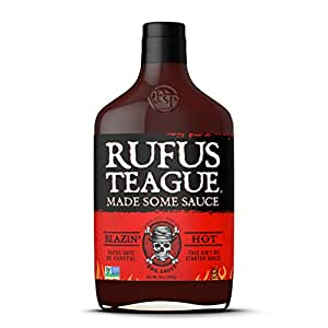 Rufus Teague - Blazin' Hot BBQ Sauce 16oz