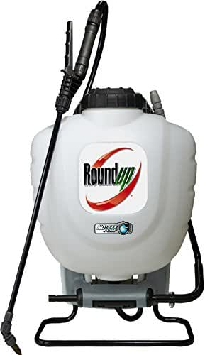 Roundup 190327 No Leak Pump Backpack Sprayer for Herbicides, Weed Killers, and Insecticides
