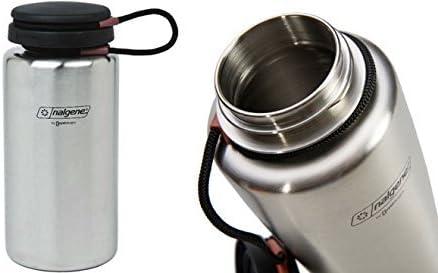 Amazon.com : Nalgene Stainless Bottle 38 oz. : Camping ...
