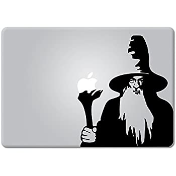 Gandalf Lord Of The Rings Apple Macbook Laptop Decal Vinyl Sticker Apple Mac Air Pro Retina