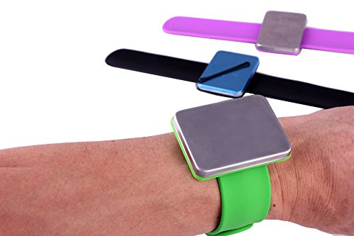 Magnetic Silicone Wrist Strap Bracelet