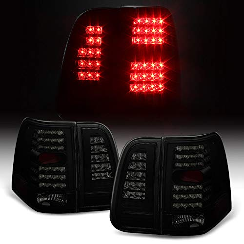 (ACANII - For Black Smoke 2003-2006 Lincoln Navigator LED Tail Lights Brake Lamps)